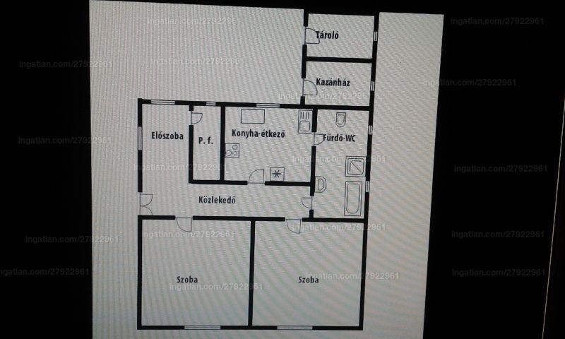 Ingatlan, eladó ház, Kunszállás, Hunyadi utca 20., 90 m2