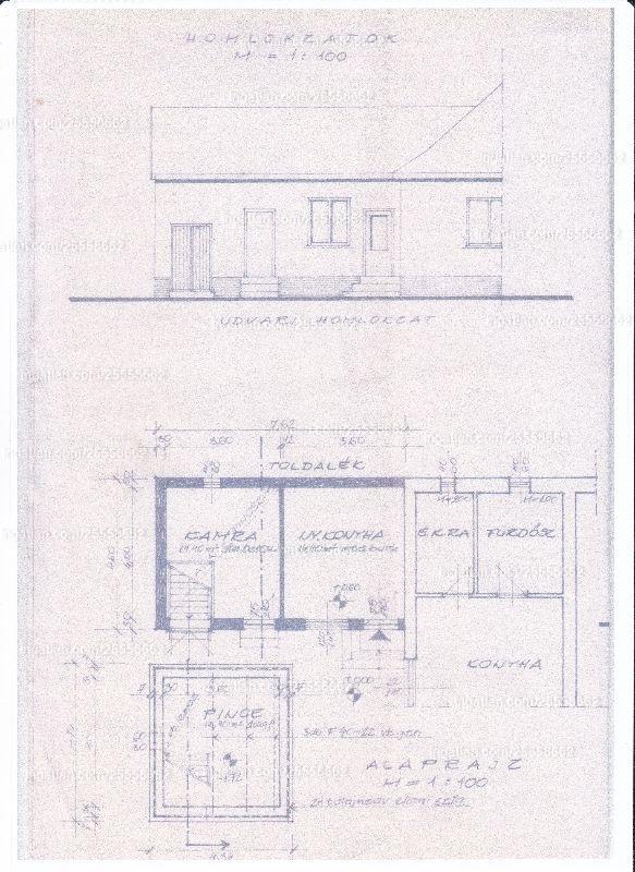 Ingatlan, eladó ház, Tompa, Jósika utca 50., 100 m2